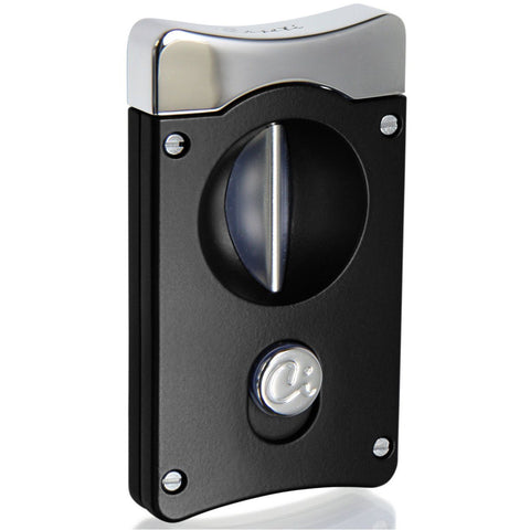 Wedge V Cigar Cutter - Black - Caseti