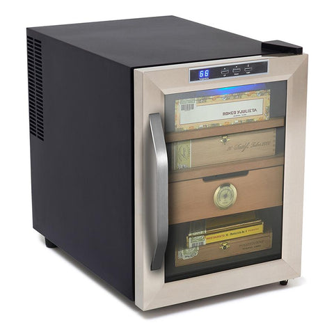 Image of Whynter Stainless Steel 1.2 cu. ft. Cigar Cooler Humidor 250 Cigars - CHC-120S