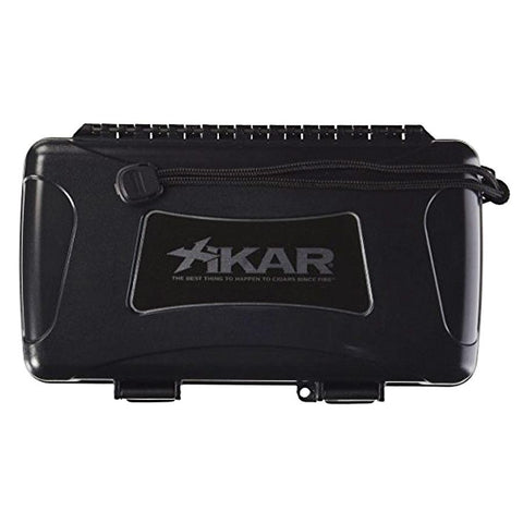 Xikar X-10 Travel Humidor 10 Cigars Waterproof - Shades of Havana