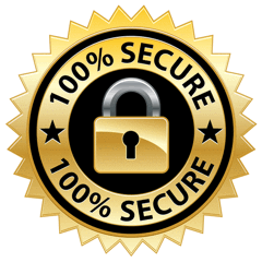 Image of 100% Secure Ordering