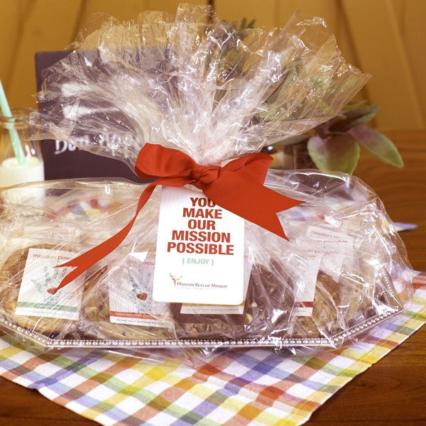 business gift platters gift cookies