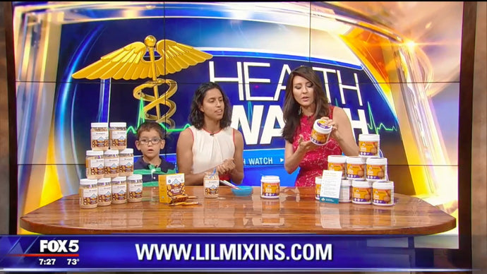 Lil Mixins on Fox 5 DC
