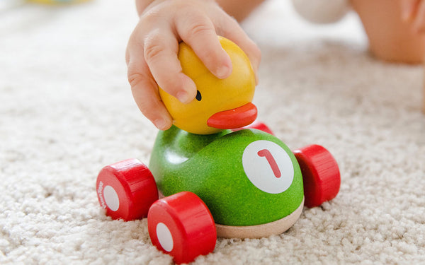 duck and car baby toy