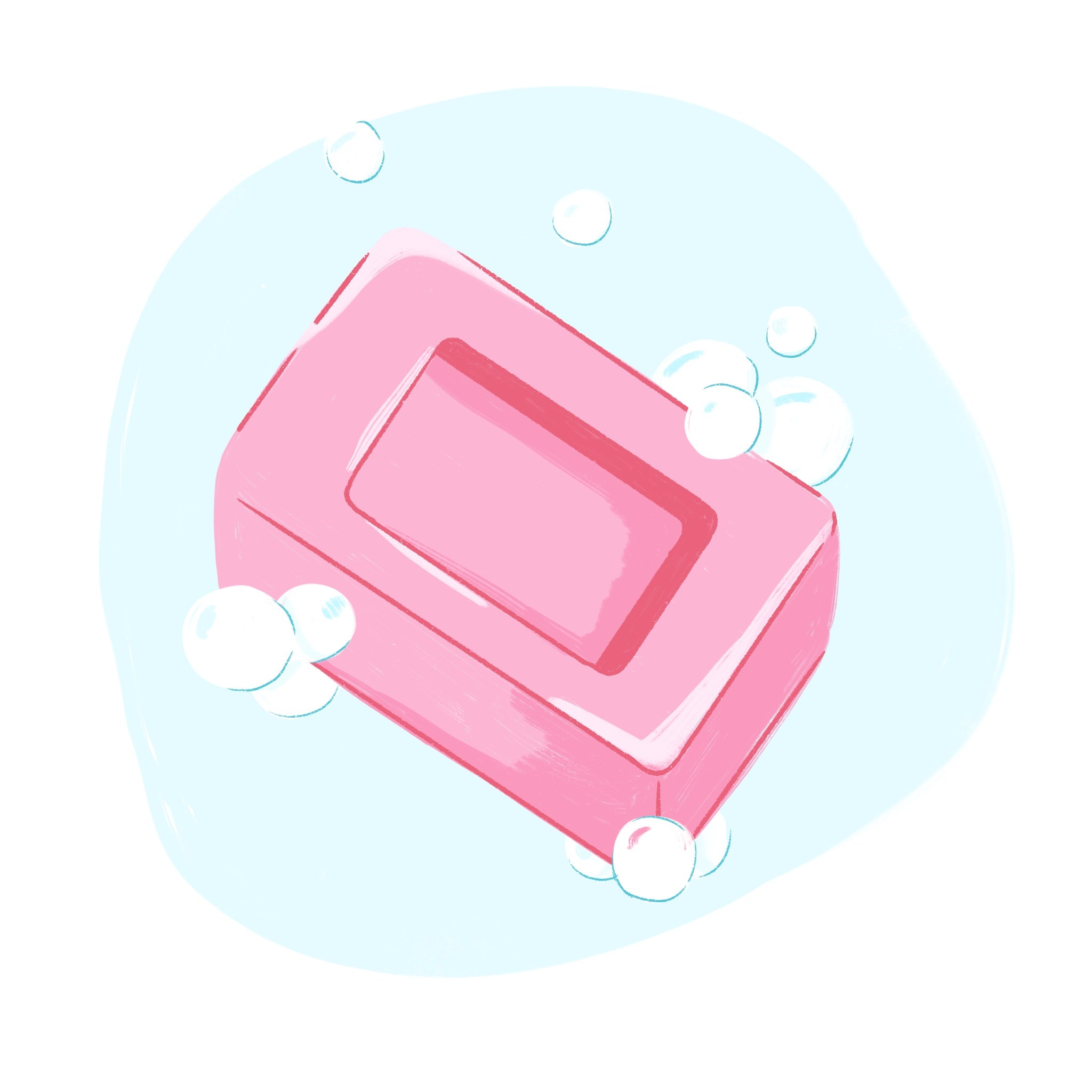 bubbly soap bar