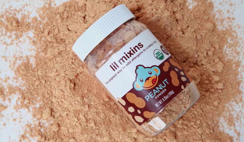Lil Mixins Infant Peanut Powder for Early Allergen Introduction