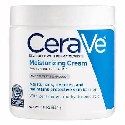 CeraVe moisturizing eczema cream for babies