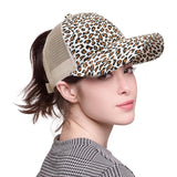 Casquette SAVAGE panthere pour chignon ou queue de cheval