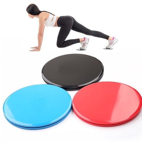 Disques glissants pour exercices Fitness, Yoga, Pilates...