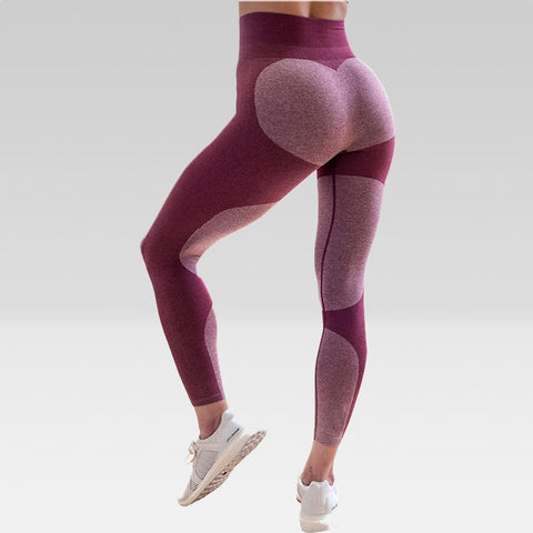 Legging sport FLEX bordeaux