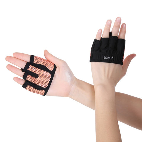 Paire de gants-mitaines AOLIKES orange