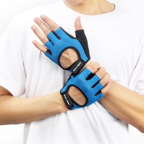 paire de gants bleue black forest