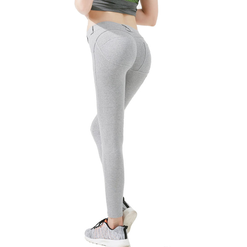 Legging sport FASHION gris cailloux