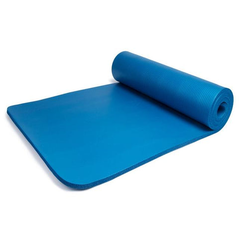 Tapis de gym 8mm bleu