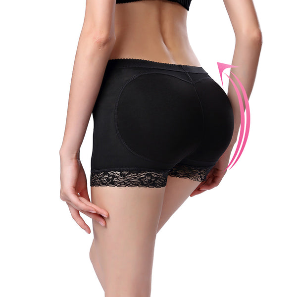 Shorty push-up noir LIFT.SHAPER femme pour un aspect gainant