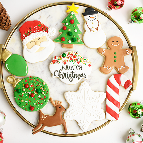 Jolly Holiday Christmas Cookie Gift Set
