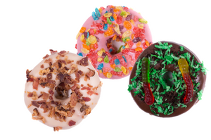 Zombie Eye Ball Donuts