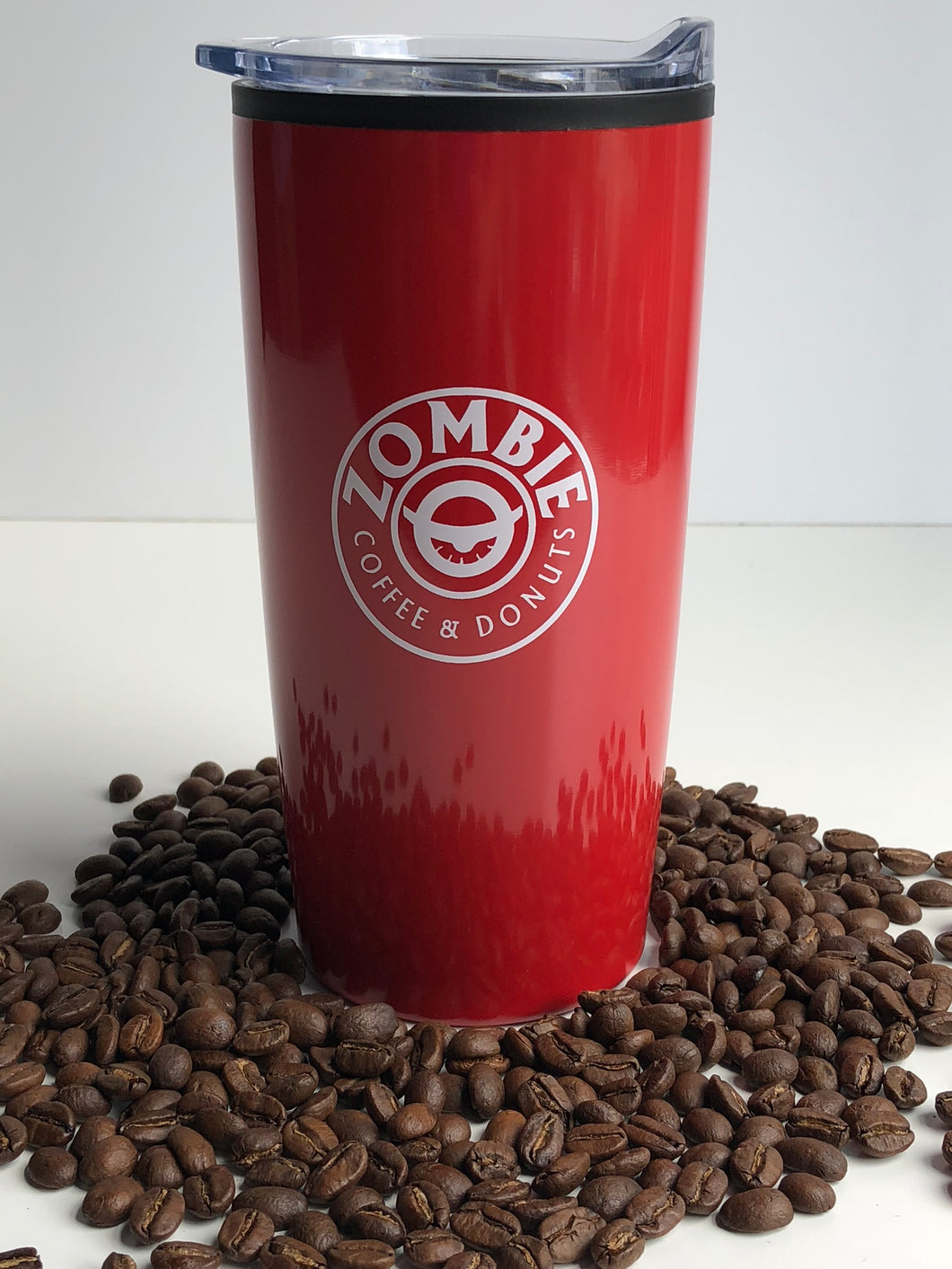 Red Travel Mug