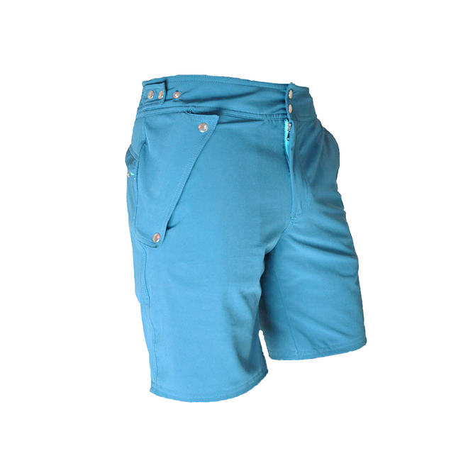 The Explorers Shorts - Aqua