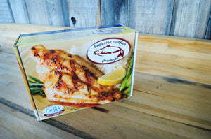 4LB Box of USA Catfish Fillets 3-7oz (1X4lb)