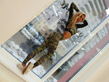 Camouflage Army Green Stretch Leggings Pants & Top