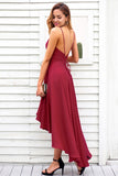 Spaghetti Strap Backless Summer Dress