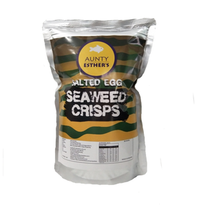Aunty Esther's Salted Egg Seaweed Crisps available Online