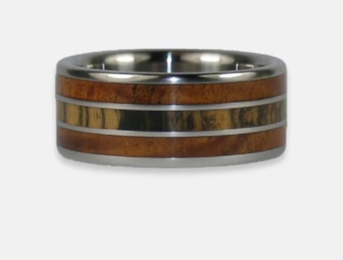 Hawaiian Titanium Rings