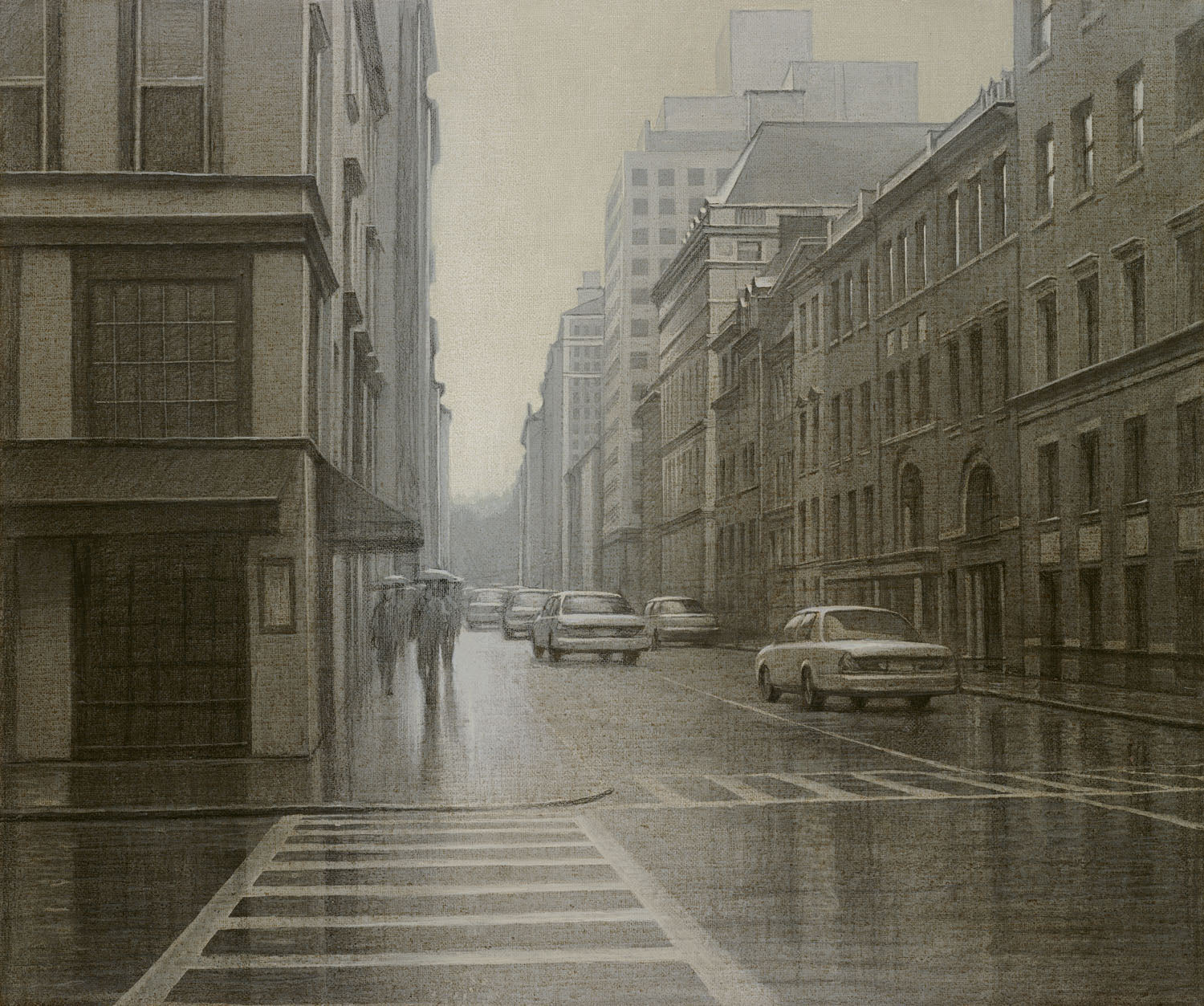 A MISTY DAY - MANHATTAN