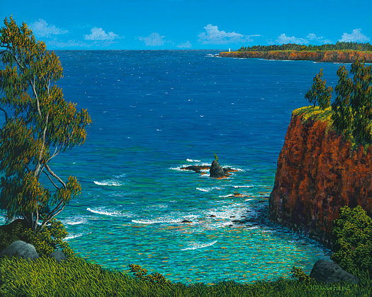 "Harry Wishard - ""Kohala Lighthouse"""
