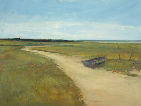 Dolphin Galleries Anne Packard Lone Boat
