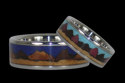 Mountain Ring Set