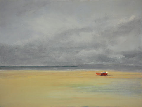 Dolphin Galleries Anne Packard Red Boat