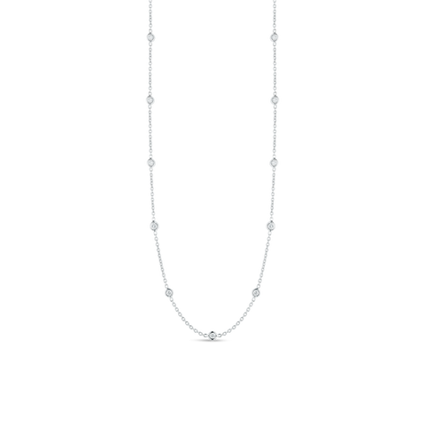 Signature Diamond Strand Necklace