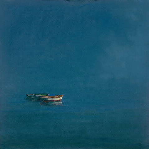 Dolphin Galleries Anne Packard Two Dories