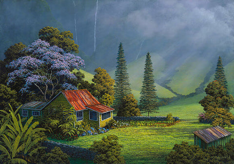 "Harry Wishard - ""Valley Jacaranda"""