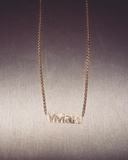 Custom Nameplate Necklace