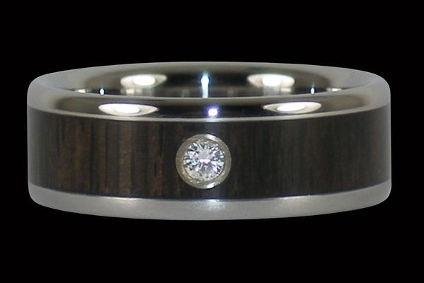 Blackwood Diamond Titanium Ring