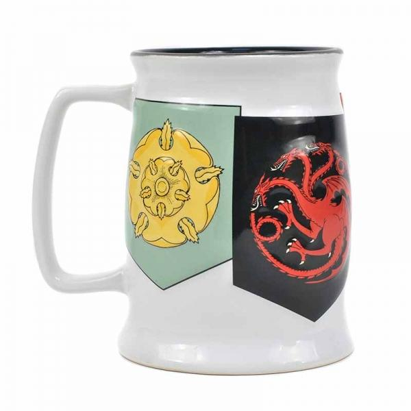 GAME OF THRONES TANKARD MUG - BANNER SIGILS