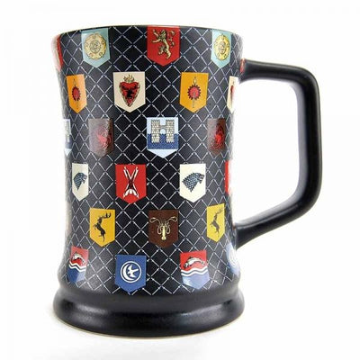 GAME OF THRONES TANKARD MUG - MATTE GLAZE SIGILS