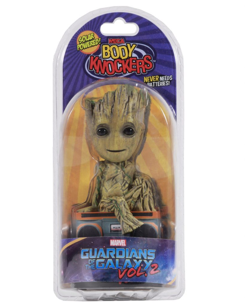 Guardians Of The Galaxy 2 - Groot Solar Powered Body Knocker
