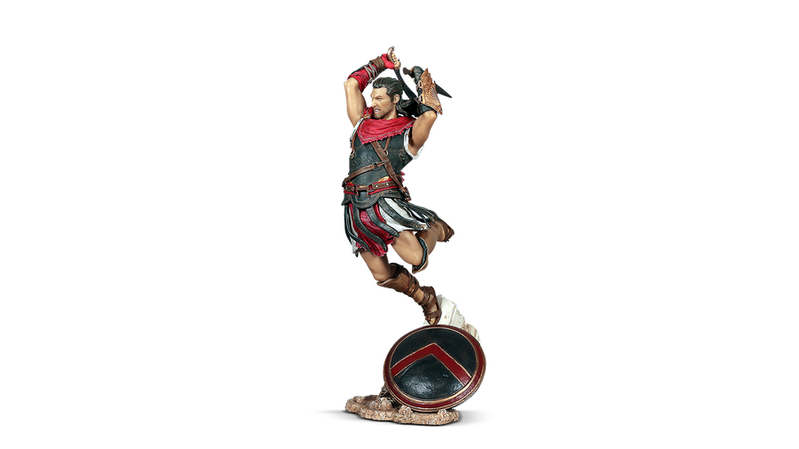 ASSASSINS CREED ODYSSEY - ALEXIOS FIGURINE & FREE WALLET OFFER