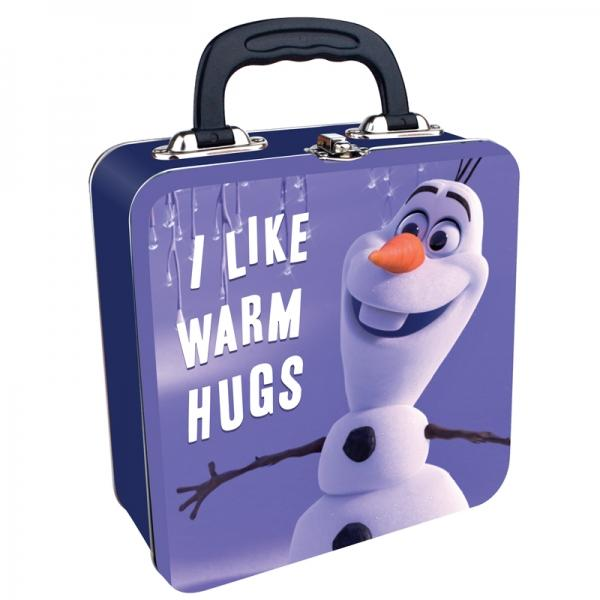 DISNEY TIN TOTE - FROZEN (WARM HUGS)