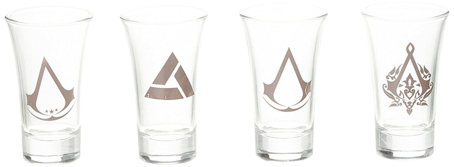 Assassins Creed Official Licensed Set of 4 Shotglasses