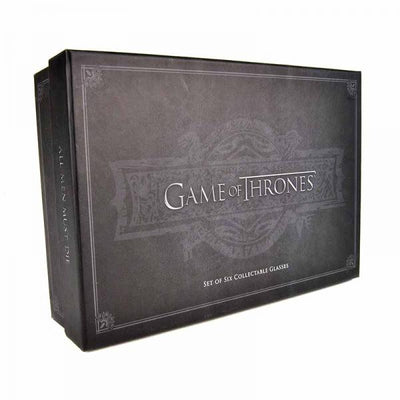 GAME OF THRONES PREMIUM SHOT GLASSES SET