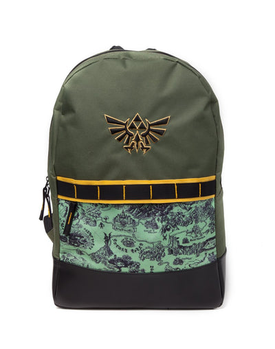 The Legend of Zelda Map All Over Printed Backpack