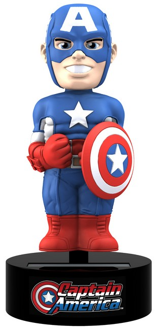 The Avengers - Captain America Solar Powered Body Knocker