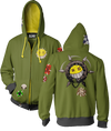 OVERWATCH ULTIMATE JUNKRAT ZIP-UP HOODIE & FREE OVERWATCH TEE OFFER
