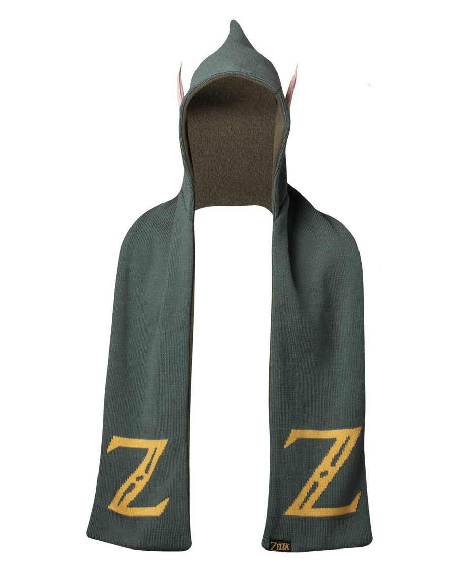 THE LEGEND OF ZELDA - LINK HOODED SCARF WITH EARS