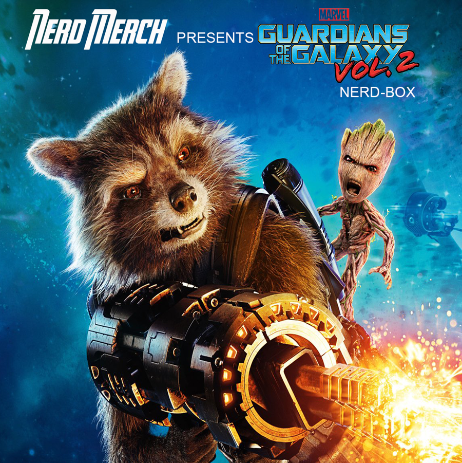 Guardians of the Galaxy Official Nerd Box