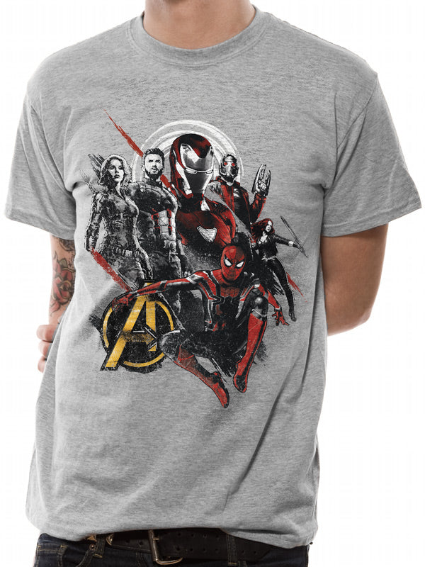 Avengers Infinity War - Heroes Unite Official Licensed Unisex T-Shirt